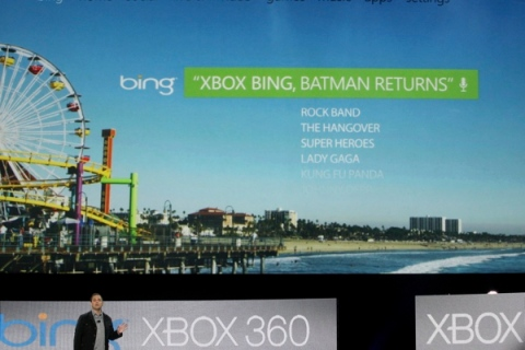 Microsoft's Marc Whitten at the Microsoft E3 XBOX 360 media briefing in Los Angeles