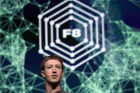 Mark Zuckerburg at f8