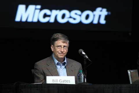 Chairman Bill Gates attends the Microsoft Shareholders meeting in Bellevue, Washington