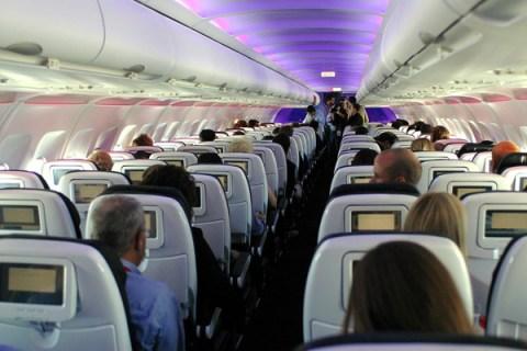 First Flights of Virgin America - LAX to SFO