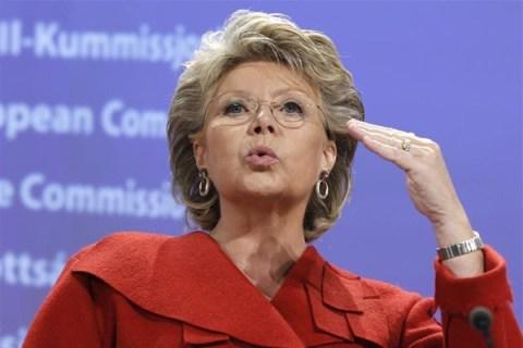 European Commissioner Viviane Reding