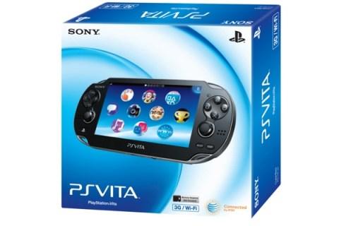 Sony PS Vita 3G + Wi-Fi
