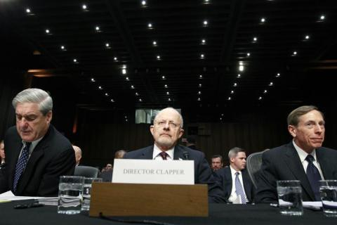 Senate Intelligence hearing in Washington