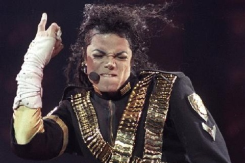 File photo of pop star Michael Jackson during a concert in Sao Paulo