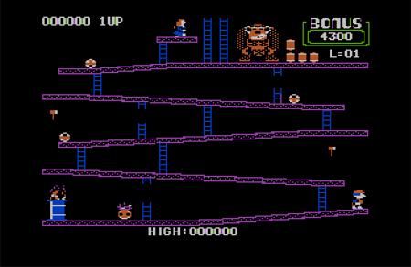 Apple II Donkey Kong