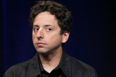 """Google Inc co-founder Sergey Brin listens to a question during the unveiling of """"Google Instant"""" during a news conference in San Francisco"""