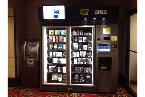 I Bought Something from a Best Buy Vending Machine, and It ...