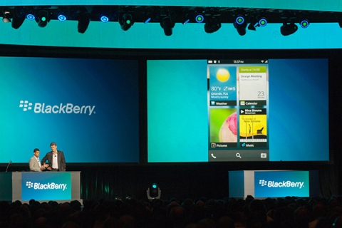BlackBerry 10 Demo