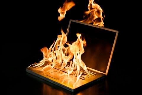 burning-laptop