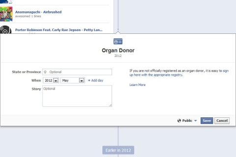 facebookorgandonor