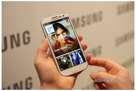 Flipboard on Galaxy S III