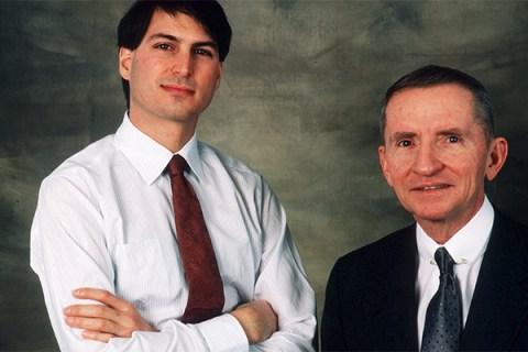 Steve Jobs and Ross Perot