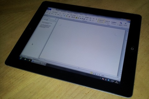 Office on an iPad
