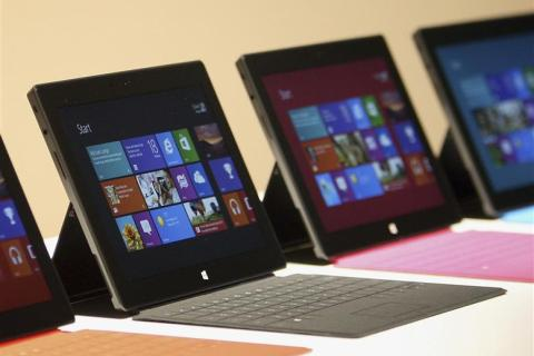 New Surface tablet computers with keyboards