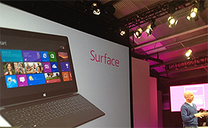 Steven Sinofsky demos Surface