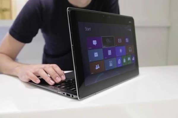 Asus Taichi Windows 8 Laptop Sports Rear Facing Touchscreen Time Com