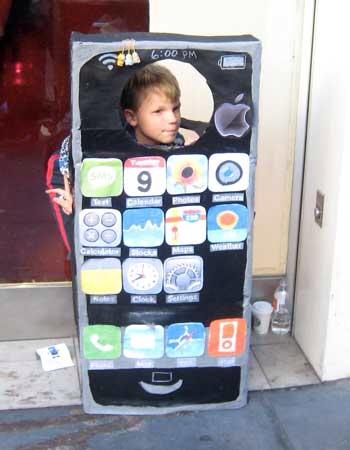 iPhone boy