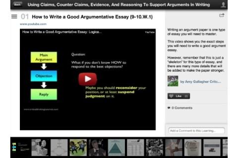 Learnist iOS app