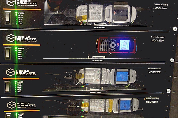 Sprint Phone Testing Machine