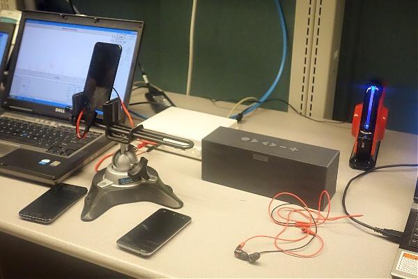 Sprint Testing Equipment
