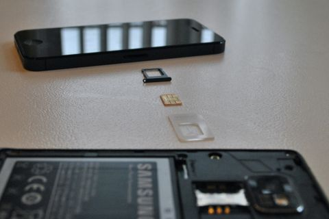 Moving a SIM from iPhone to Galaxy S II