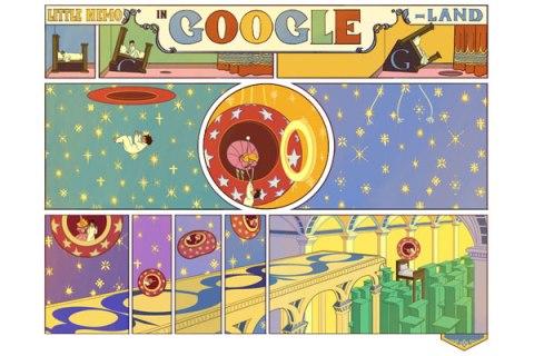 Little Nemo Google Doodle