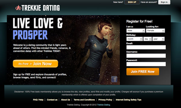 Trekkie dating scarlet johansson dating