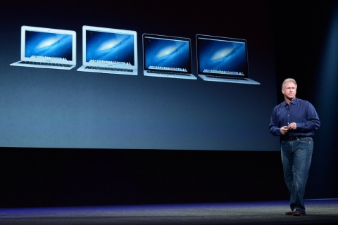 Phil Schiller and MacBooks