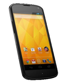 Google's Nexus 4 smartphone