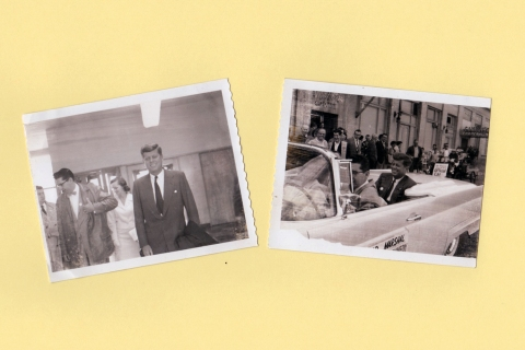 JFK Polaroids