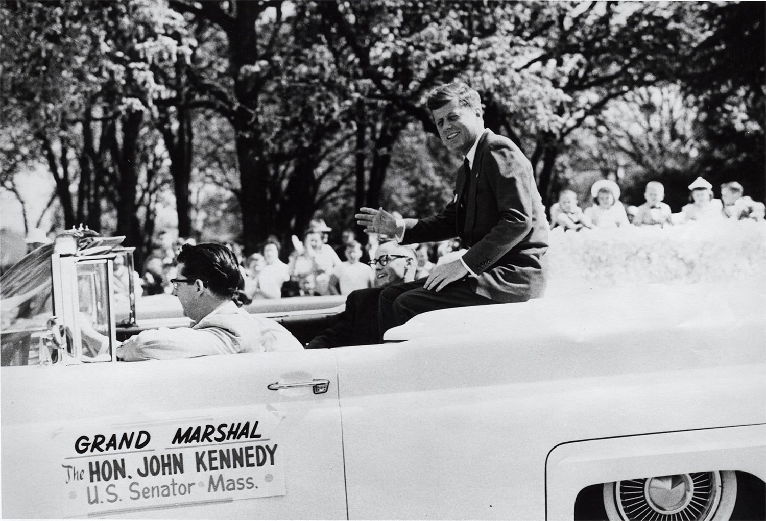 JFK in Medford Pear Blossom Parade