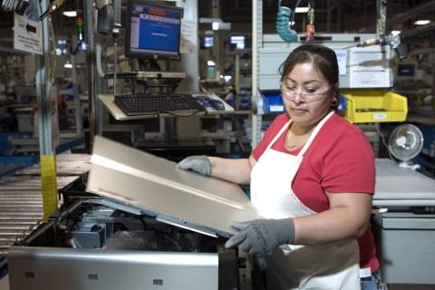 Dell PC plant