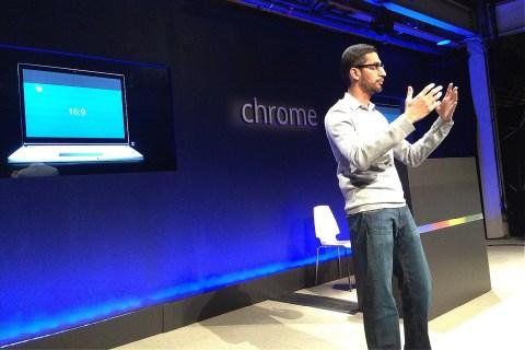Sundar Pichai introduces the Chromebook Pixel