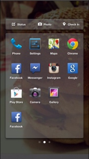 Facebook Home Launcher