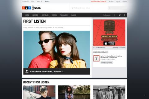 First Listen - NPR