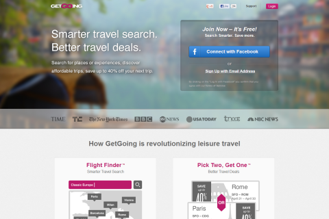 GetGoing - save up to 40% on flights