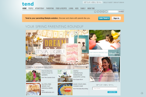 Tend by Glam Media - Fresh Advice on Kids, Family Fun, Kitchen & Home