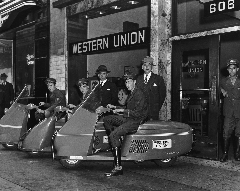 [image] Western Union messengers
