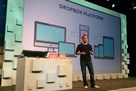 Drew Houston of Dropbox at DBX
