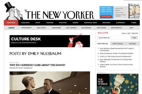 Culture Desk