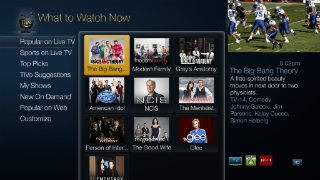 TiVo What to Watch Now