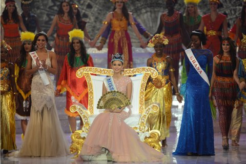 INDONESIA-LIFESTYLE-MISS WORLD