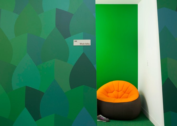 A colorful Google workspace.