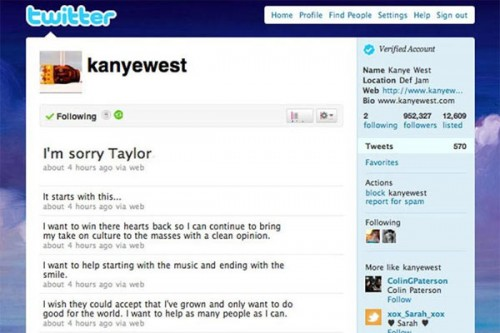 When Kanye West Humbled Himself The 140 Moments That Made Twitter Matter Time Com