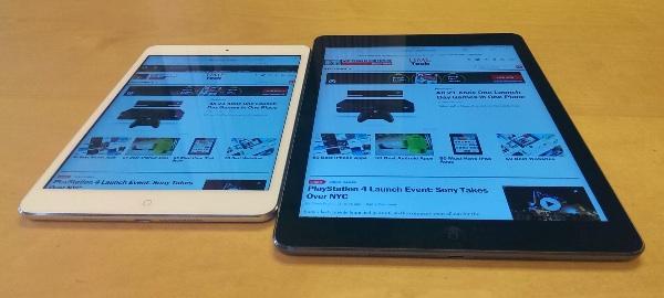 iPad Mini with Retina Display and iPad Air