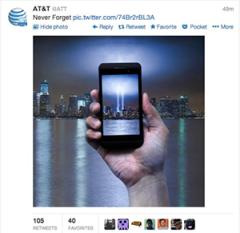 AT&T tweet