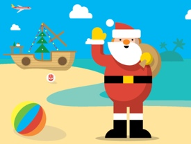 google-santa-tracker-beach-scene-275px