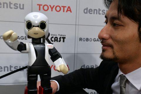 Robot Astronaut 1280X720