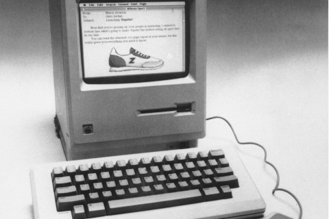 This is the Apple Macintosh that was unveiled in Cupertino, Calif., on Jan. 24, 1984.