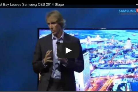 Michael Bay CES Samsung Presentation